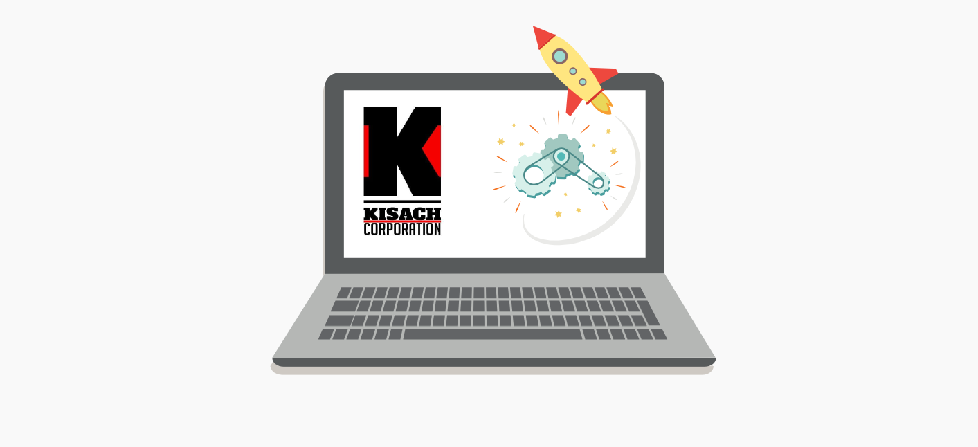 kisach corp launch web site